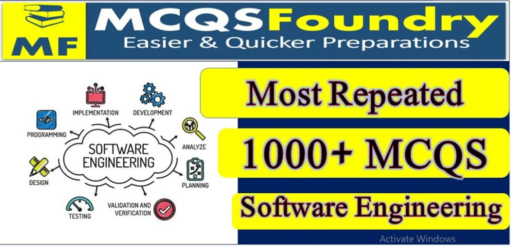 Top 1000+ Software Engineering Subject Mcqs Pdf Download