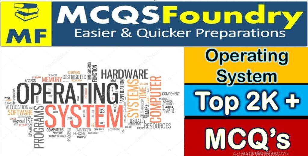 Operating System Top 500 + MCQS Download Pdf
