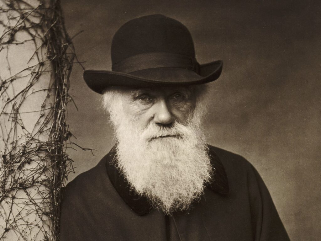 The well Known Writer and Contributor of English CHARLES DARWIN (1809-1882)
