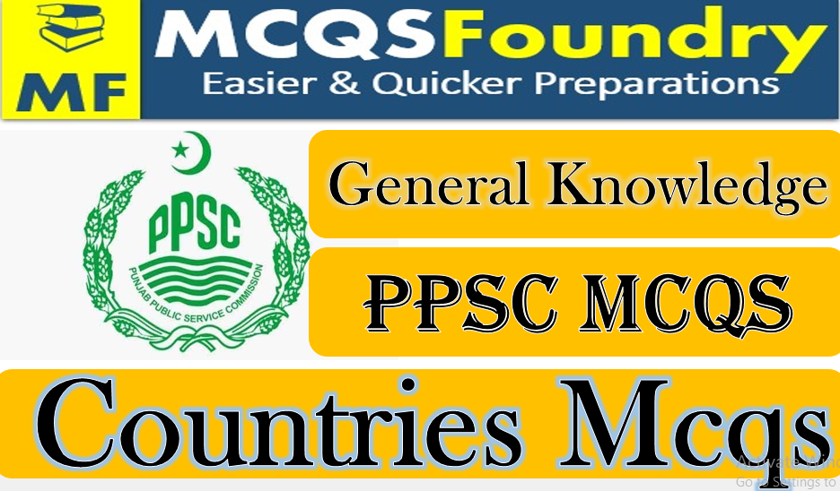 PPSC General Knowledge Countries Mcqs Chechniya issue mcqs with answers pdf 2021