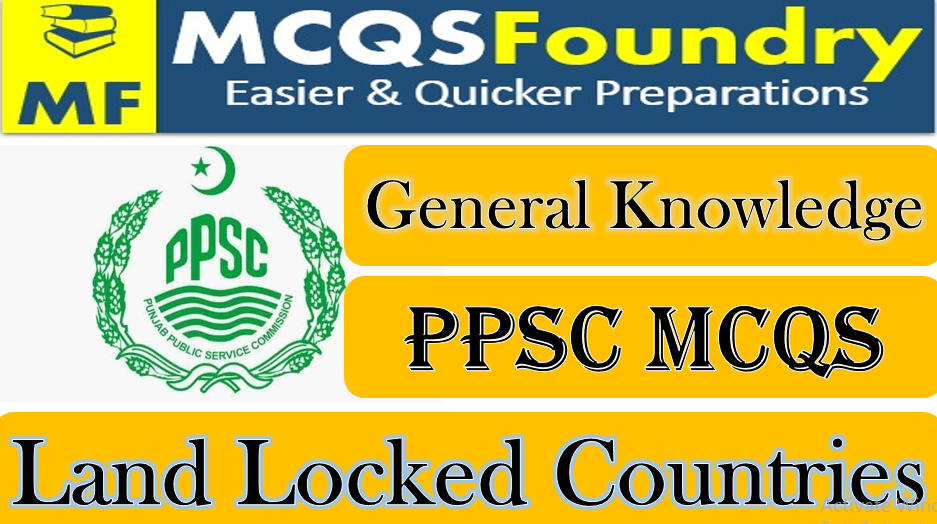 General-Knowledge-Land-Locked-Countries-mcqs-with-answers-pdf-2021